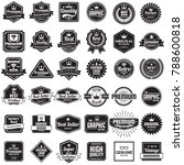 vintage retro vector logo for...   Shutterstock .eps vector #788600818