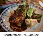 bbq  barbecue  steak  sydney ...   Shutterstock . vector #788606320