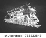vector hand drawn illustration... | Shutterstock .eps vector #788623843