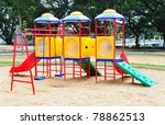 children playground colorful   Shutterstock . vector #78862513