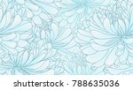 seamless pattern with hand... | Shutterstock .eps vector #788635036