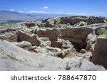 ruins over over 2 500 years of... | Shutterstock . vector #788647870