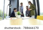 group of young business people...   Shutterstock . vector #788666170