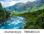nature a at mount aspiring... | Shutterstock . vector #788680114