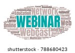 webcast or web conference word... | Shutterstock .eps vector #788680423