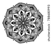 mandalas for coloring book.... | Shutterstock .eps vector #788680993
