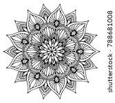 mandalas for coloring book.... | Shutterstock .eps vector #788681008