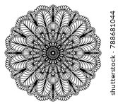 mandalas for coloring book.... | Shutterstock .eps vector #788681044