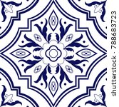 Portuguese Tile Pattern Vector...