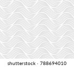 the geometric pattern with wavy ... | Shutterstock .eps vector #788694010