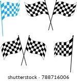 race flag various designs ...   Shutterstock .eps vector #788716006