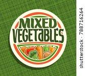 Vector Logo For Vegetables ...