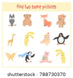 cartoon illustration of finding ... | Shutterstock . vector #788730370