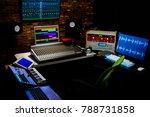 professional digital recording... | Shutterstock . vector #788731858