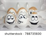 baldness problem concept. the... | Shutterstock . vector #788735830
