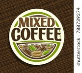 vector logo for coffee | Shutterstock .eps vector #788739274