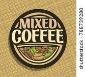 vector logo for coffee | Shutterstock .eps vector #788739280