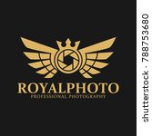 royal photo is a stylish... | Shutterstock .eps vector #788753680