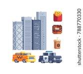 new york city. american theme.... | Shutterstock .eps vector #788770330