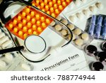 background on a medical topic ... | Shutterstock . vector #788774944