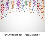 vector illustration of colorful ... | Shutterstock .eps vector #788780554