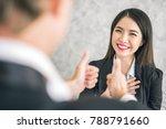 boss business man employer... | Shutterstock . vector #788791660