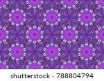 raster floral background. cute... | Shutterstock . vector #788804794