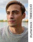 portrait of young handsome man... | Shutterstock . vector #788813143