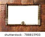 grunge background in steampunk... | Shutterstock . vector #788815903