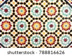 detail of traditional moroccan... | Shutterstock . vector #788816626