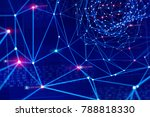 global information network....   Shutterstock . vector #788818330