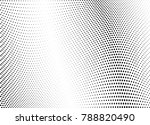 abstract halftone wave dotted... | Shutterstock .eps vector #788820490