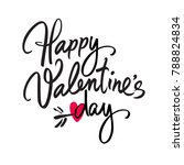 happy valentine's day... | Shutterstock .eps vector #788824834