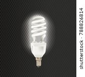 light realistic luminescence... | Shutterstock .eps vector #788826814