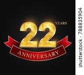 anniversary  anniversary ... | Shutterstock .eps vector #788835904