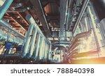 industrial zone  steel... | Shutterstock . vector #788840398