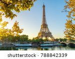 paris eiffel tower | Shutterstock . vector #788842339
