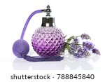 perfume with lavender aroma.... | Shutterstock . vector #788845840