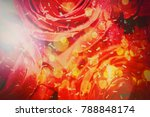 roses bouquet background... | Shutterstock . vector #788848174