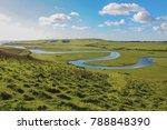 views of the cuckmere valley... | Shutterstock . vector #788848390