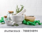 natural handmade soap with...   Shutterstock . vector #788854894