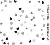 hearts confetti  bright...   Shutterstock .eps vector #788859538