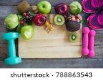 healthy food for heart  diet... | Shutterstock . vector #788863543