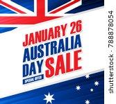 australia day  january 26... | Shutterstock .eps vector #788878054