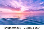 background of colorful sky... | Shutterstock . vector #788881150