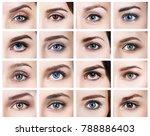 Collage Of Many Female Eyes...
