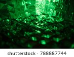 close up of cut crystal in... | Shutterstock . vector #788887744
