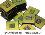 obsolete cpu computer processor ... | Shutterstock . vector #788888260