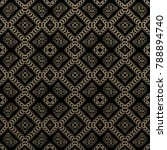 seamless raster pattern in... | Shutterstock . vector #788894740