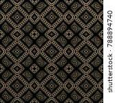 seamless raster pattern in...   Shutterstock . vector #788894740